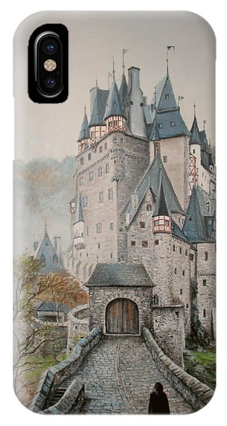 A Story At Eltz Castle IPhone Case