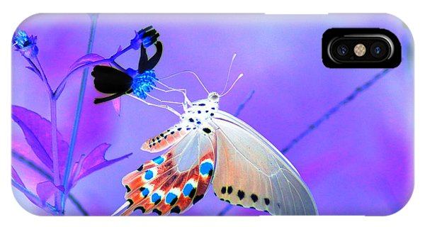 A Strange Butterfly Dream IPhone Case