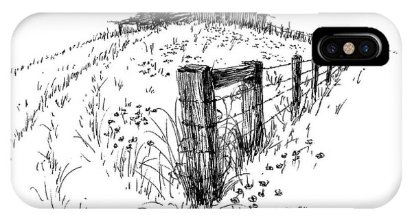 A Strong Fence And Weak Barn IPhone Case