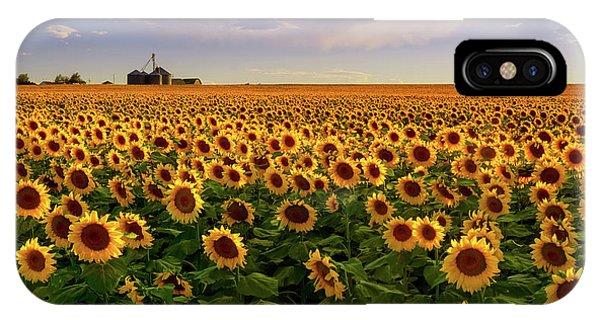 IPhone Case featuring the photograph A Summer Evening In Rural Colorado by John De Bord