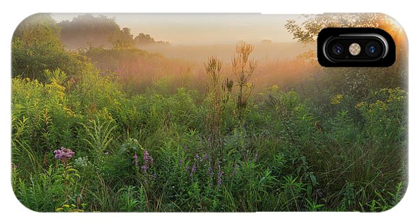 Sunrise iPhone Case - A Summer Morning 2016 Square by Bill Wakeley