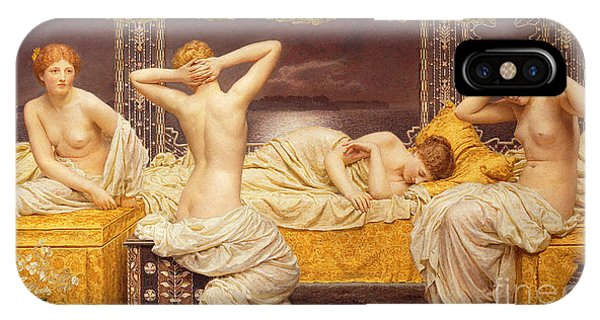 See iPhone Case - A Summer Night by Albert Joseph Moore