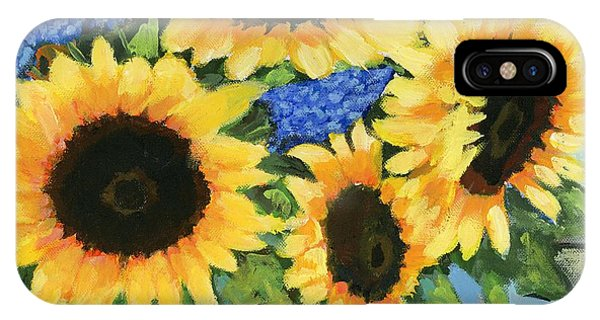 A Sunny Arrangement IPhone Case