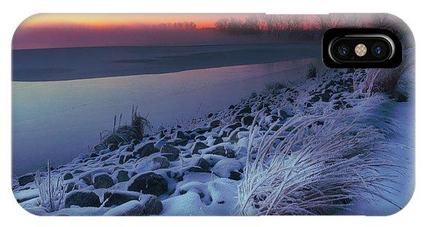 A Sunrise Cold IPhone Case