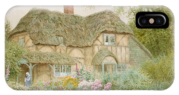 Country iPhone Case - A Surrey Cottage by Arthur Claude Strachan