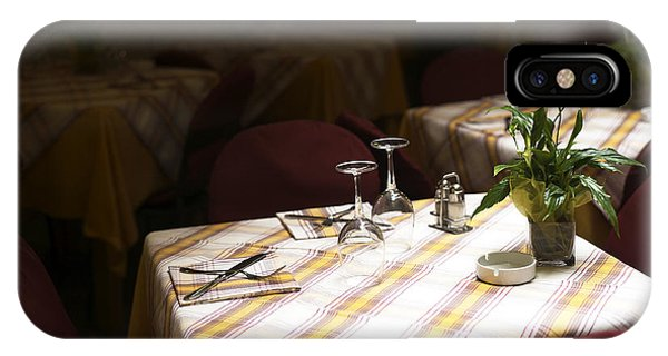 A Table Is Waiting In Sorrento IPhone Case