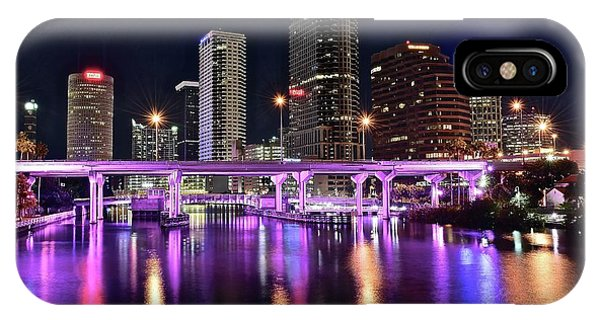 A Tampa Night IPhone Case