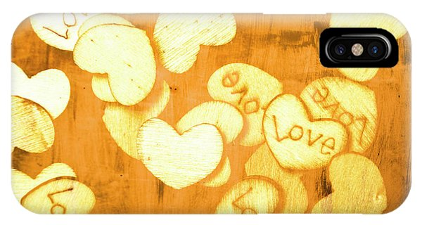 Valentine iPhone Case - A Texture Of Vintage Love by Jorgo Photography - Wall Art Gallery