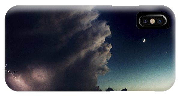 A Thunderstorm, Evening Star IPhone Case