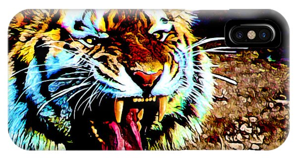 A Tiger's Roar IPhone Case