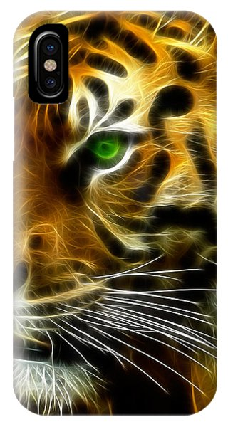 A Tiger's Stare IPhone Case
