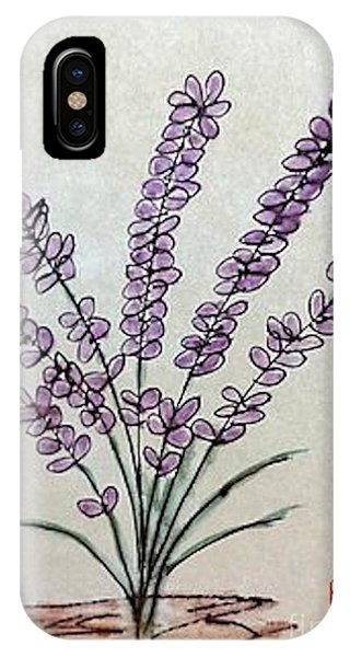 A Touch Of Lavender IPhone Case