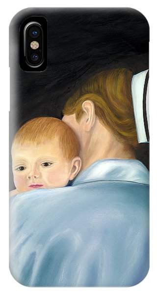Comforting A Tradition Of Nursing IPhone Case