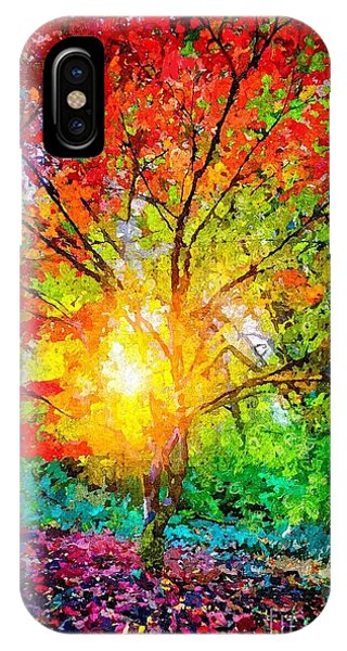 A Tree In Glory IPhone Case