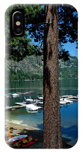 A Trees View Of Fallen Leaf Lake IPhone Case