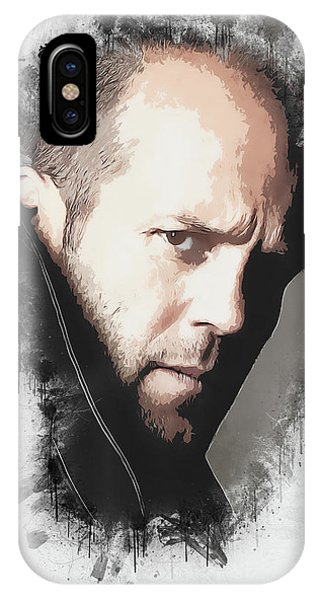 iPhone Case - A Tribute To Jason Statham by Dusan Naumovski