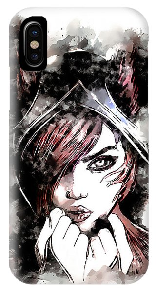 Nerd iPhone Case - A Tribute To Xayah by Dusan Naumovski