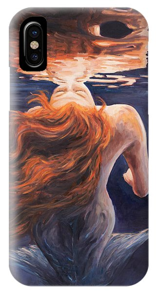 Reflection iPhone Case - A Trick Of The Light - Love Is Illusion by Marco Busoni