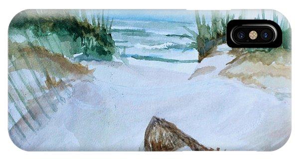 A Trip To The Beach IPhone Case