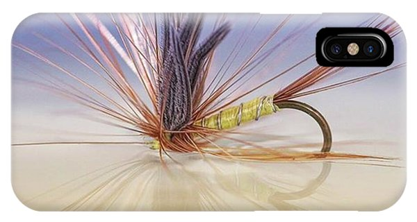 iPhone Case - A Trout Fly (greenwell's Glory) by John Edwards