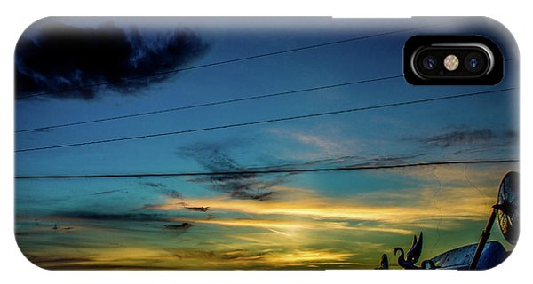 A Trucker's View IPhone Case