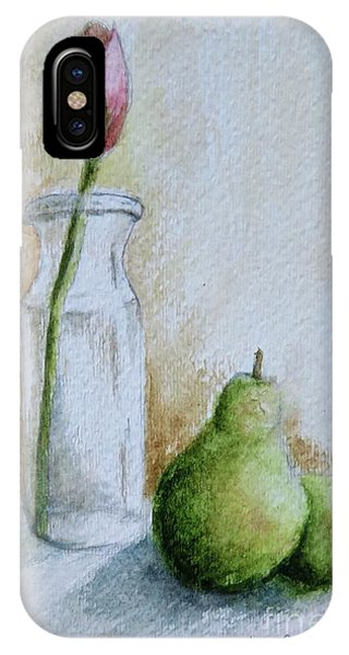 A Tulip And Two Pears IPhone Case