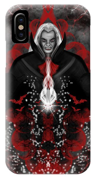 A Vampire Quest Fantasy Art IPhone Case