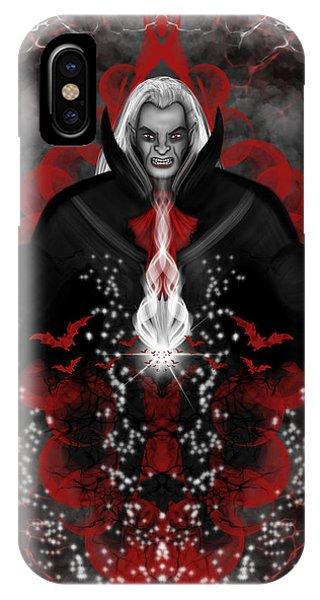 A Vampire Quest Fantasy Art IPhone Case