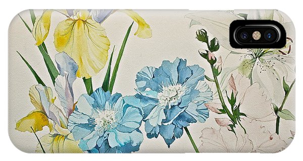 A Variety-posthumously Presented Paintings Of Sachi Spohn  IPhone Case