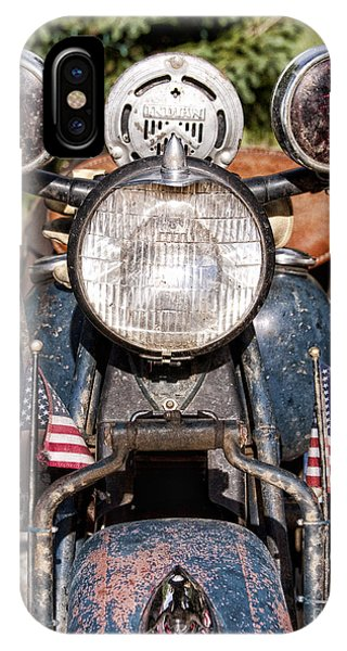 A Very Old Indian Harley-davidson IPhone Case