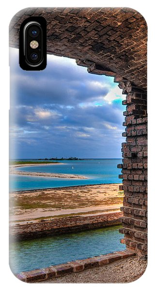 A View From Fort Jefferson - 2 IPhone Case