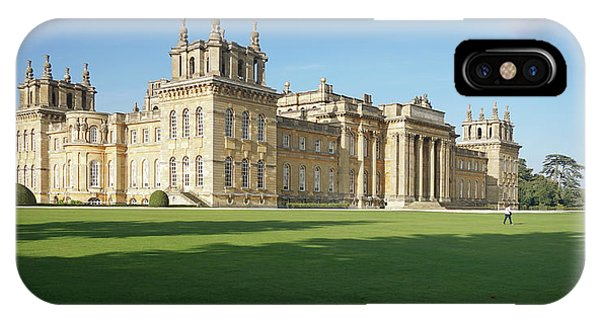 IPhone Case featuring the photograph A View Of Blenheim Palace by Joe Winkler