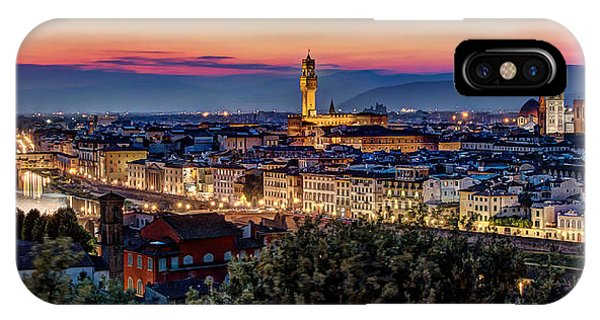 A View Of Florence IPhone Case