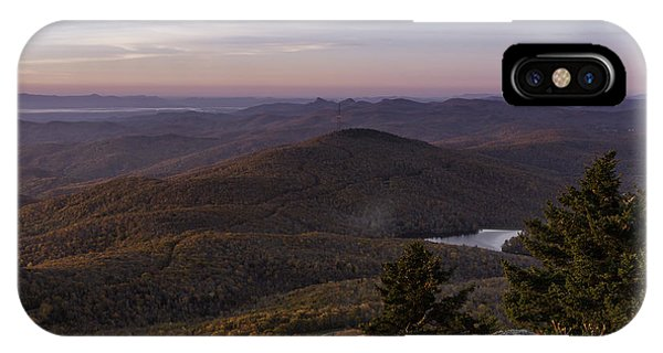 IPhone Case featuring the photograph A View Of Grandmother Mountain And Lake by Ken Barrett