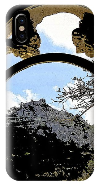 A View Of The Moorish Castle IPhone Case