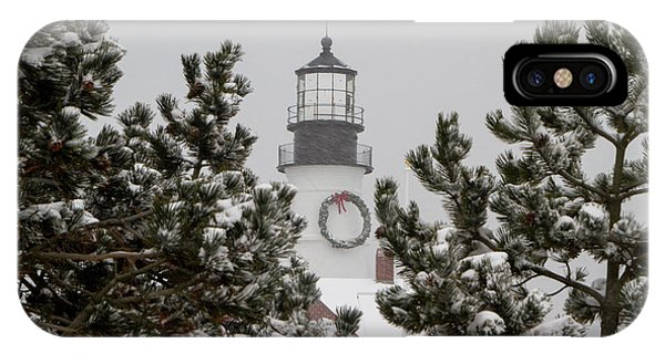 A View Of The Portland Head Light IPhone Case