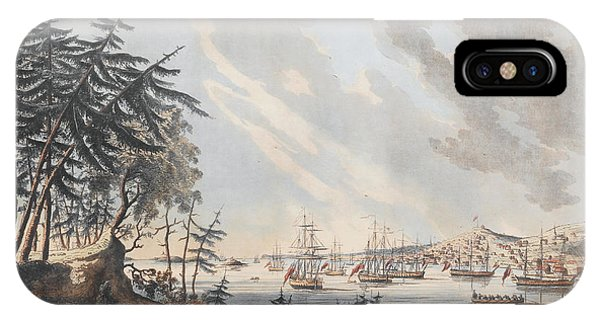 A View Of The Town And Harbour Of Halifax From Dartmouth Shore IPhone Case
