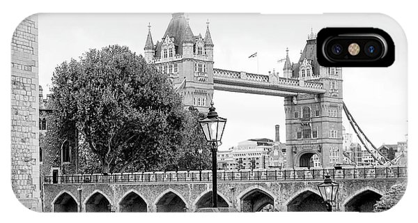 A View Of Tower Bridge IPhone Case