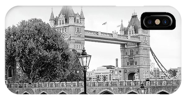 IPhone Case featuring the photograph A View Of Tower Bridge by Joe Winkler