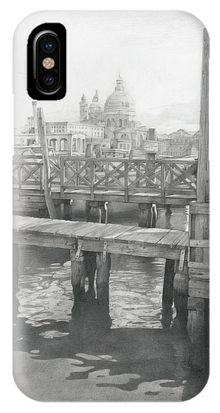 iPhone Case - A View On The San-salute by Denis Chernov