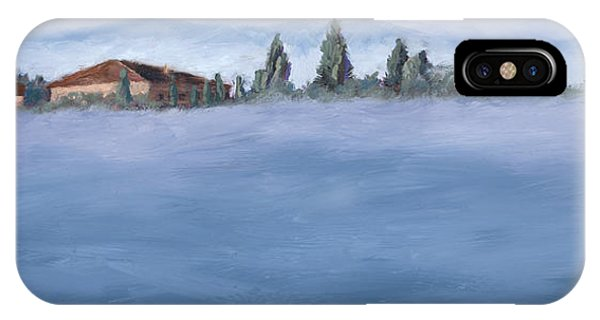 A Villa In The Mist IPhone Case