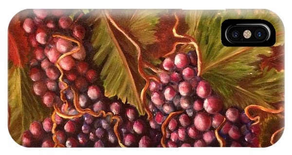 A Vineyard  IPhone Case