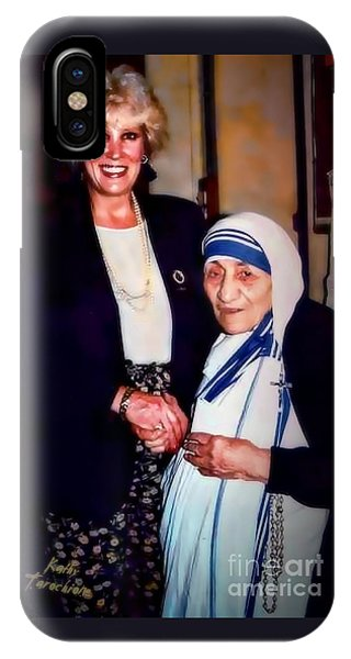 A Vist With Mother Teresa IPhone Case