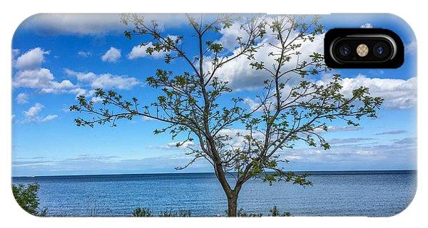 A Walk Along Lake Michigan IPhone Case