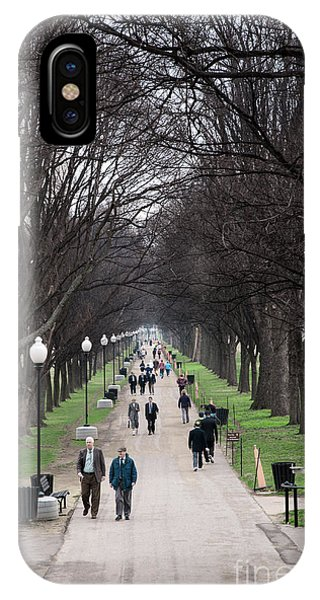 iPhone Case - A Walk Along The National Mall In Washington Dc by William Kuta