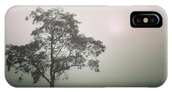 iPhone Case - A Walk Through The Clouds #fog #nuneaton by John Edwards