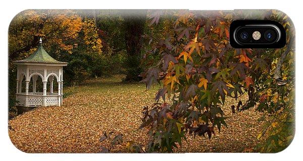 A Washington Crossing Autumn IPhone Case
