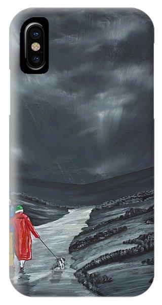 A Wee Bijou Strollette IPhone Case