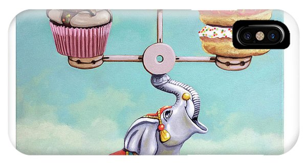 A Well-balanced Diet IPhone Case