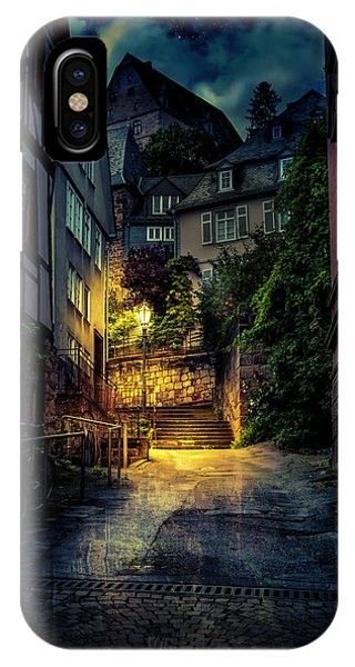 A Wet Evening In Marburg IPhone Case